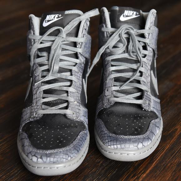 Nike Shoes - Nike Dunk Sky Hi Wedges - 7.5 57421d7e019e